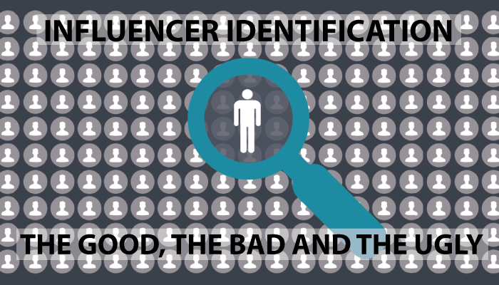 Onalytica - Influencer Identification, the good the bad and the ugly