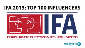 IFA 2013 – Top 100 Influencers