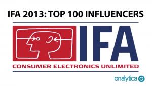 IFA 2013 – Top 100 Influencers