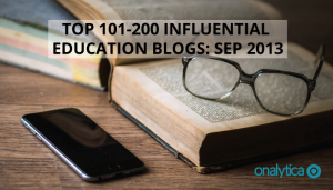 Top 101-200 Influential Education Blogs: Sep 2013