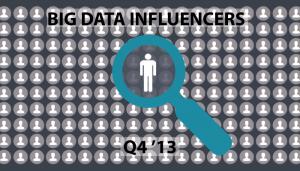 Onalytica Big Data Influencers – Q4 '13