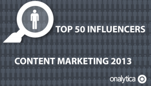 Top 50 Influencers on Content Marketing