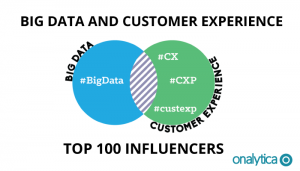 Big Data and Customer Experience – Top 100 Influencers