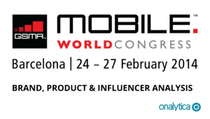 MWC 2014 – Brand, Product & Influencer Analysis [INFOGRAPHIC]