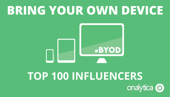 Onalytica - BYOD - Top 100 Influencers