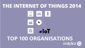 The Internet of Things 2014 – Top 100 Organizations