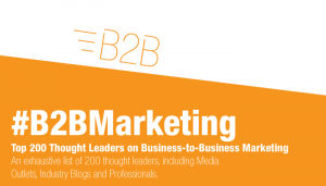 B2B Marketing: Top 200 Brands and Influencers