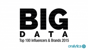 Big Data 2015: Top 100 Influencers and Brands