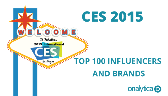 Onalytica - CES 2015 Top 100 Influencers and Brands