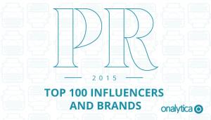 PR 2015: Top 100 Influencers & Brands