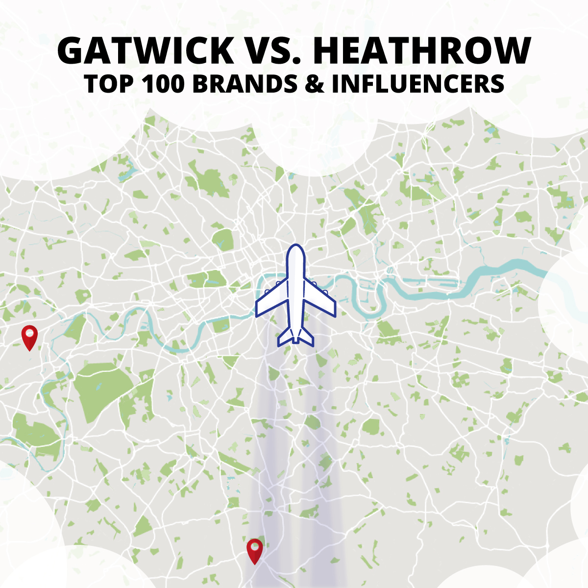Onalytica - Gatwick vs. Heathrow Top 100 Influencers and Brands