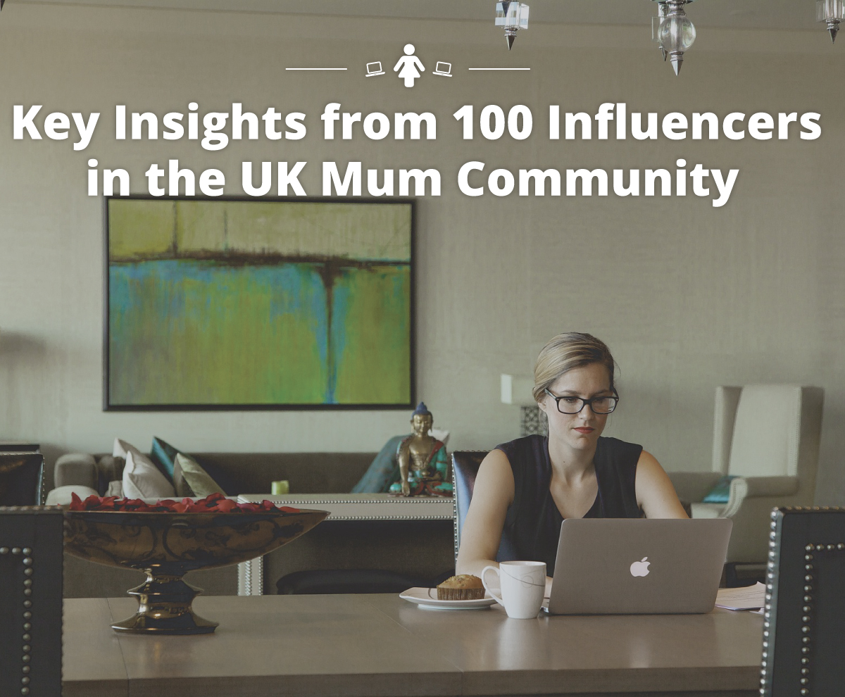 Onalytica - Key Insights form 100 Influencers in the UK Mum Community