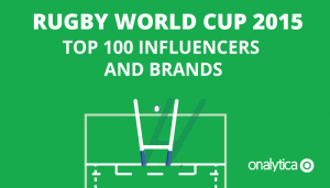 Rugby World Cup 2015: Top 100 Influencers and Brands