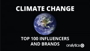 Climate Change: Top 100 Influencers and Brands