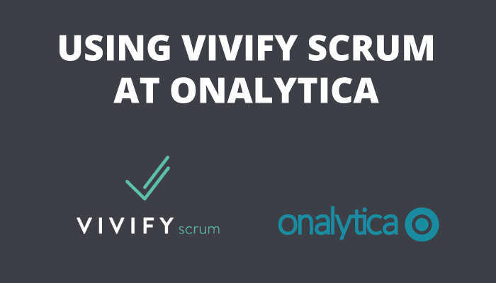 Onalytica - Using Vivify Scrum at Onalytica