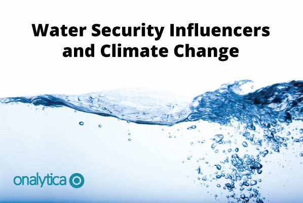 Onalytica - Water Security Influencers and Climate Change