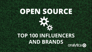 Open Source: Top 100 Influencers and Brands