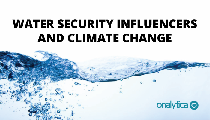 Onalytica - Water Security and Climate Change