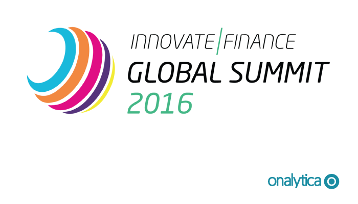 Onalytica - Innovate Finance Summit 2016