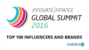 Innovate Finance Global Summit: Top 100 Influencers and Brands