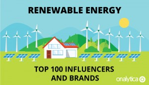 Renewable Energy: Top 100 Influencers and Brands