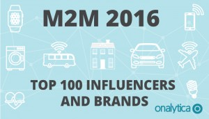 M2M 2016: Top 100 Influencers and Brands