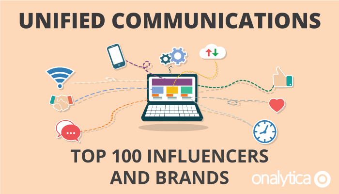 Onalytica - Unified Communications - Top 100 Influencers and Brands