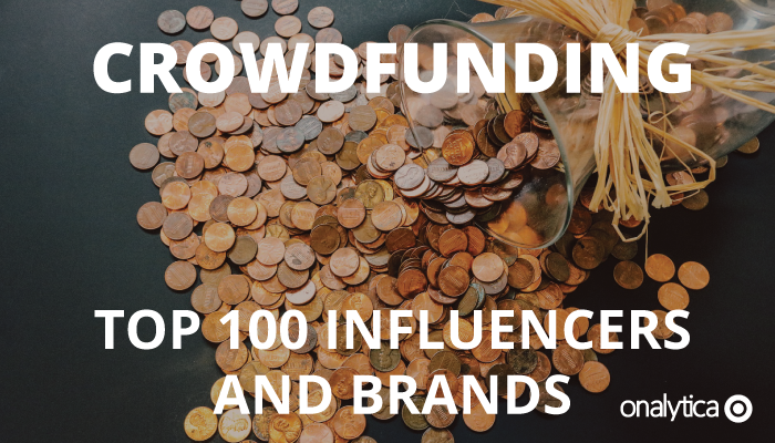 Onalytica - Crowdfunding Top 100 Influencers and Brands