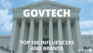 GovTech: Top 100 Influencers and Brands