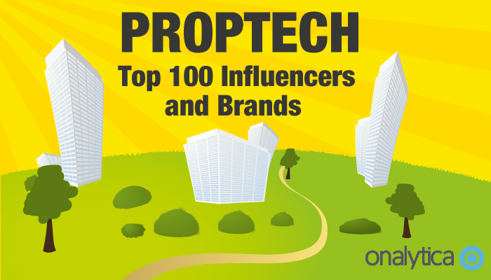Onalytica PropTech Top 100 Influencers and Brands