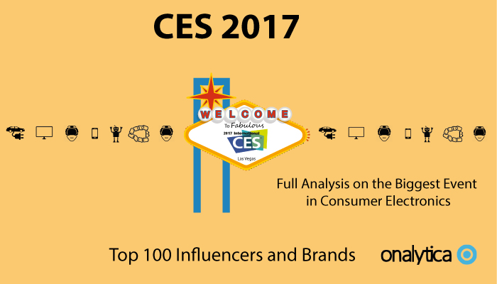 Onalytica - CES 2107 Top 100 Influencers and Brands
