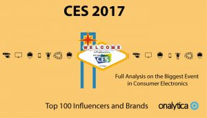 CES 2017: Top 100 Influencers and Brands