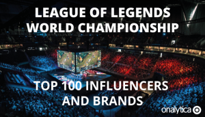League of Legends World Championship: Top 100 Influencers and Brands