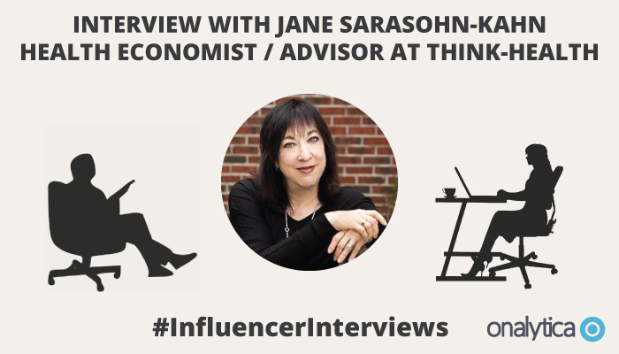 Onalytica Interview with Jane Sarasohn-Kahn