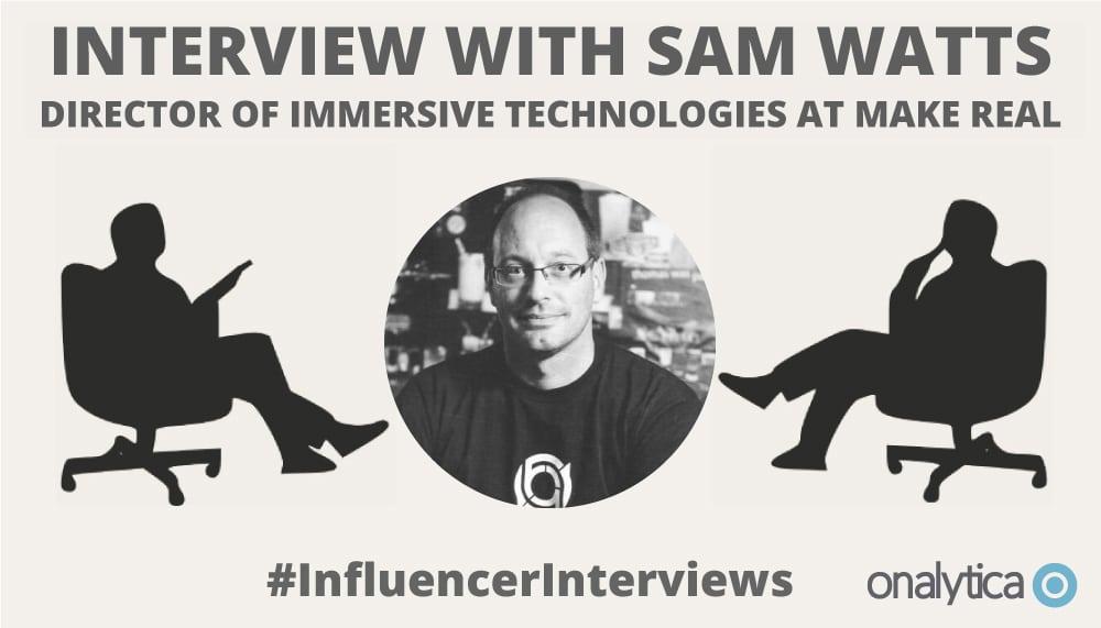 Onalytica Interview with Sam Watts