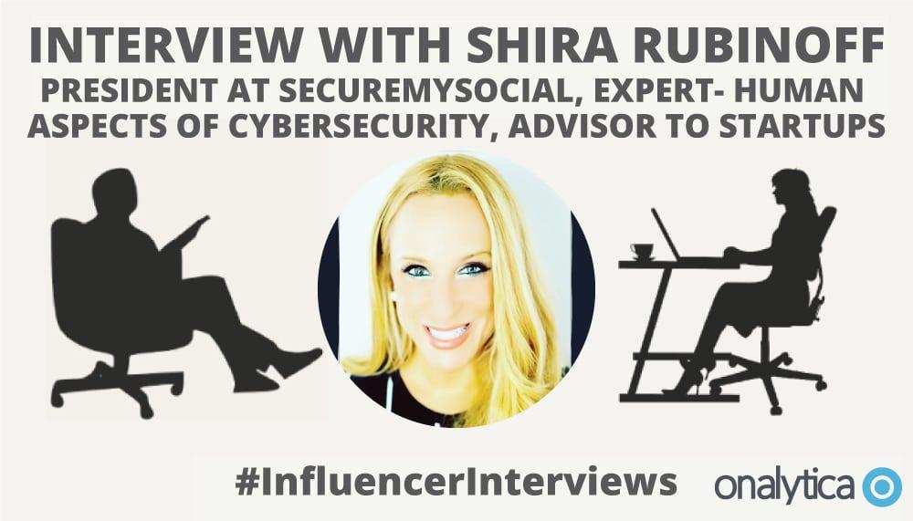 Onalytica Interview with Shira Rubinoff