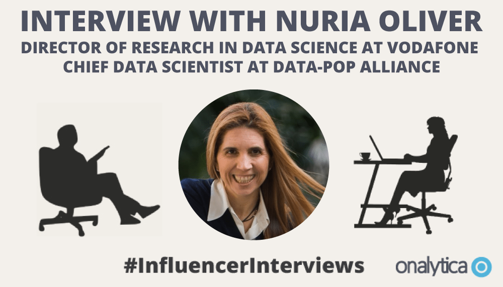 Onalytica Interview with Nuria-Oliver