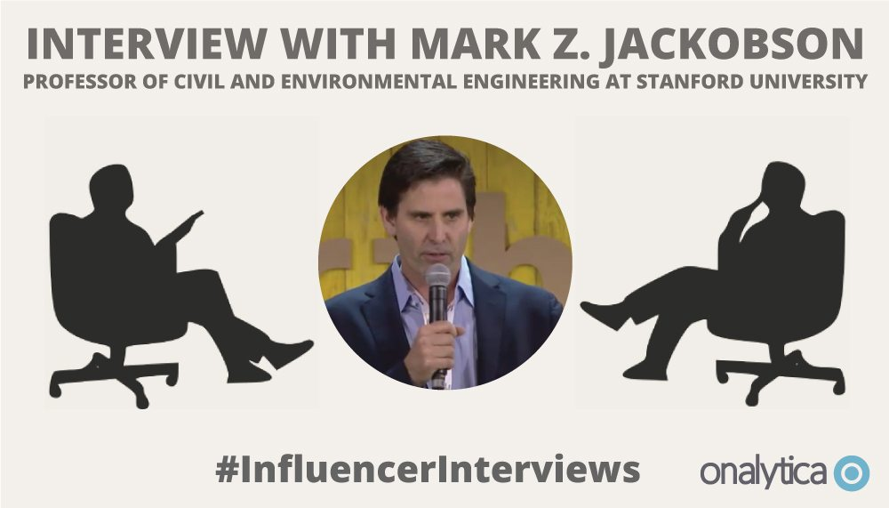 Onalytica Interview with Mark Z-Jacobson