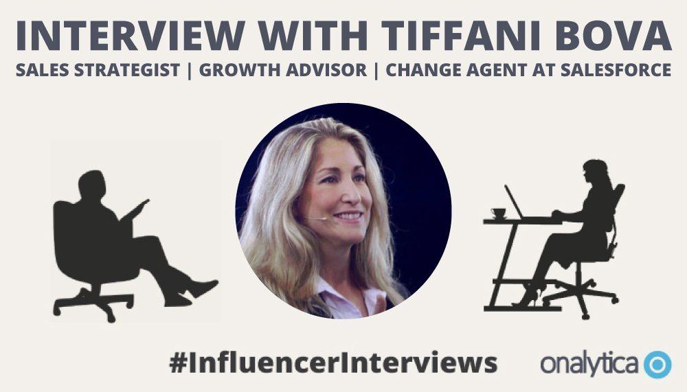 Onalytica Interview with Tiffani Bova