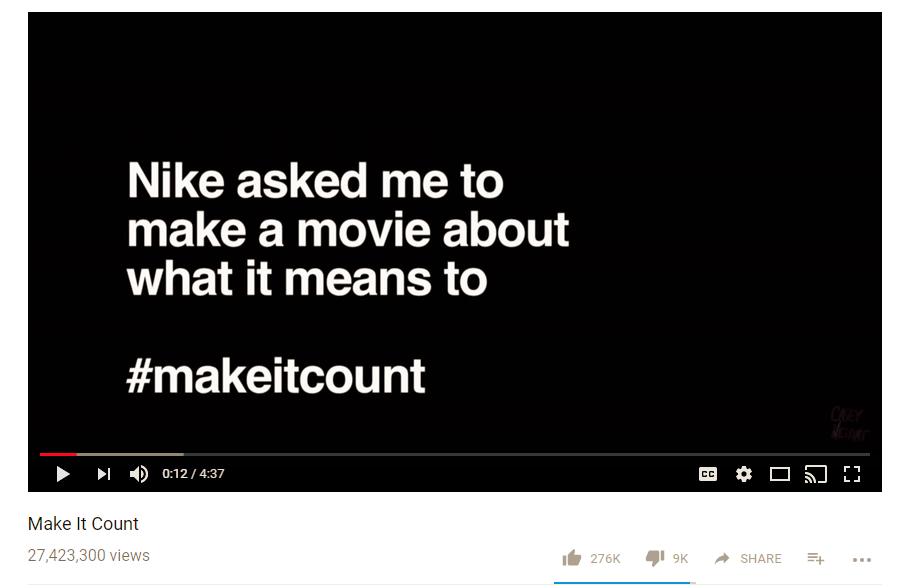 Casey Neistat Make it Count