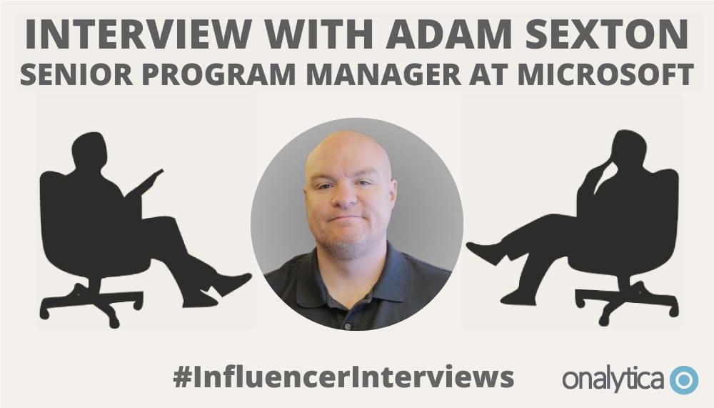Onalytica Interview with Adam Sexton