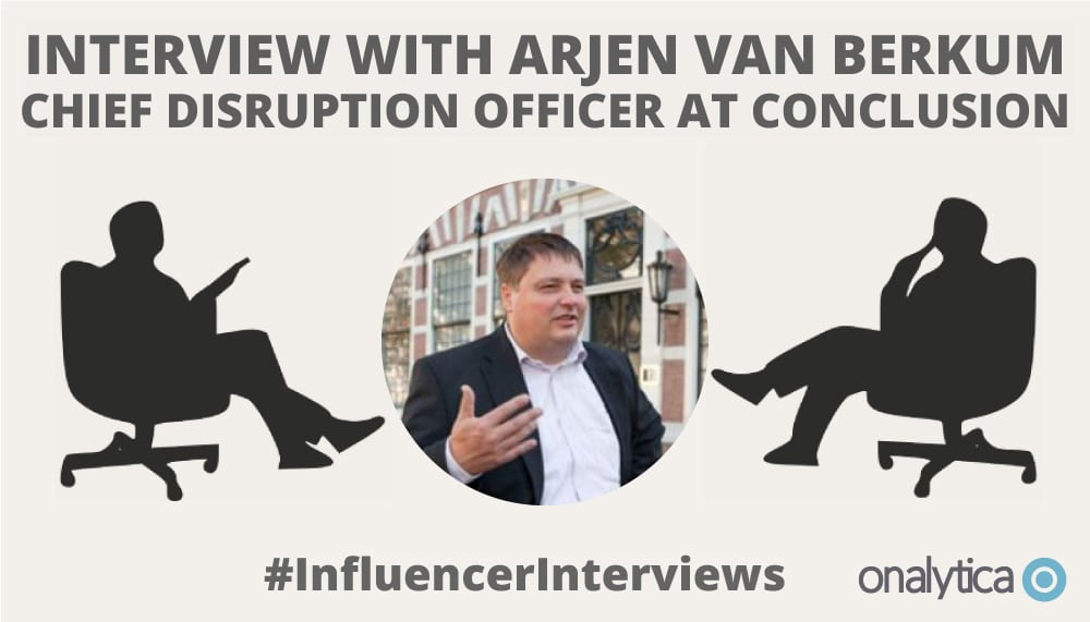 Onalytica Interview with Arjen van Berkum