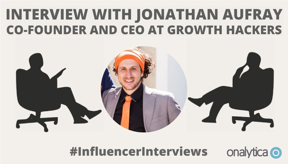 Onalytica Interview with Jonathan Aufrey