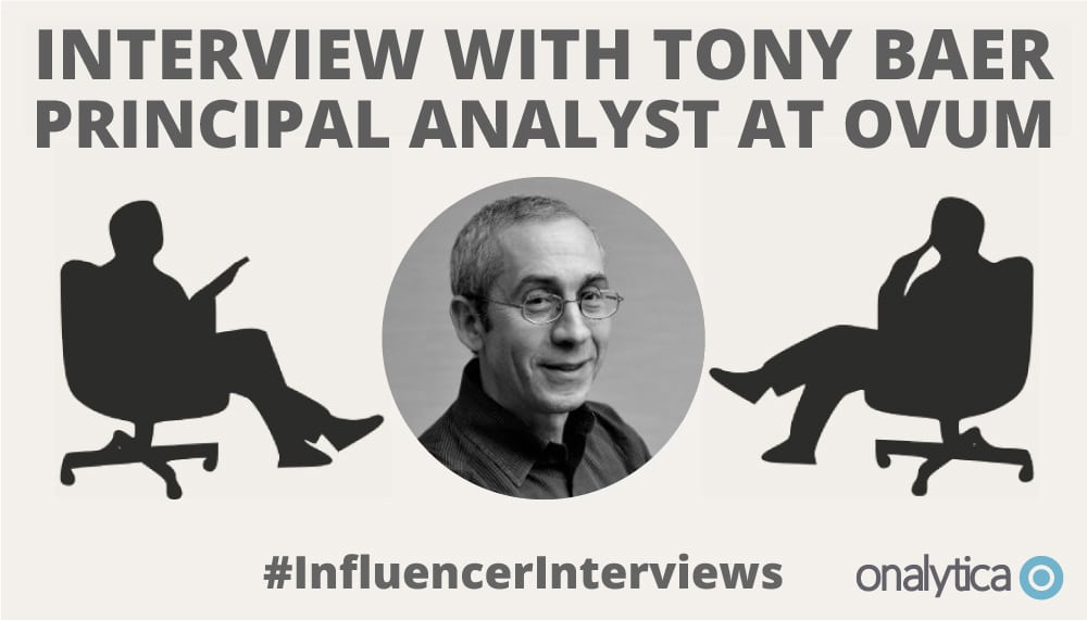 Onalytica Interview with Tony Baer