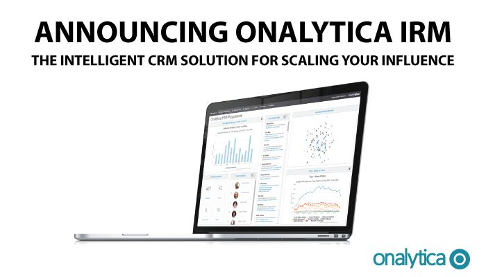 Announcing Onalytica IRM