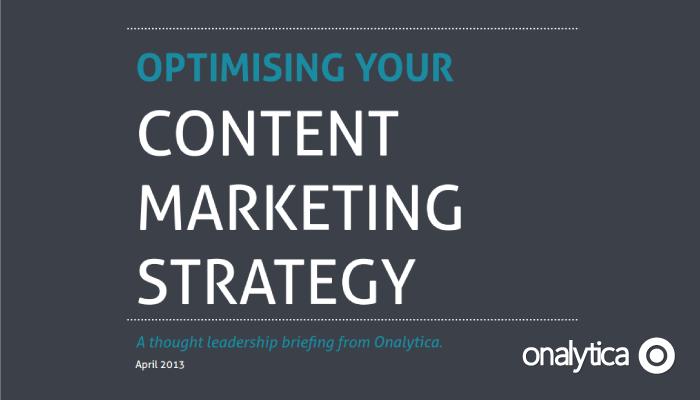 Onalytica - Optimizing Your Content Marketing Strategy
