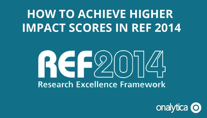 Onalytica - How to achieve higher impact scores in REF 2014