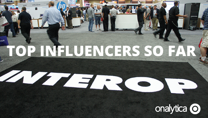 Onalytica - Interop Las Vegas 2014 Top Influencers so far