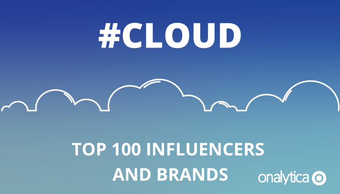 Onalytica - #Cloud Top 100 Influencers and Brands