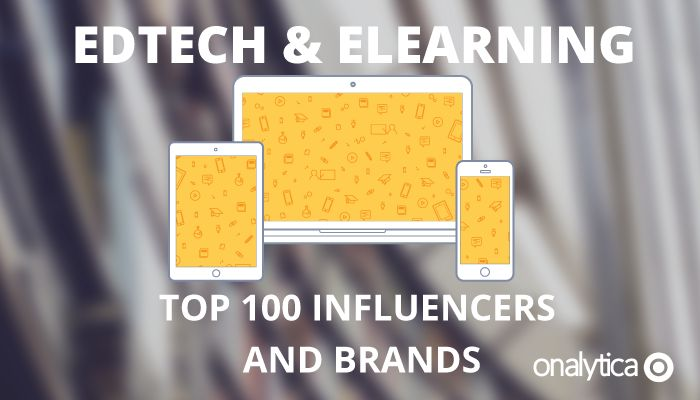 0ee1e5f4241c Edtech and Elearning  Top 100 Influencers and Brands
